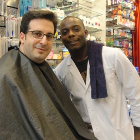 Nickel men's spa spends the day at Thompson Alchemists