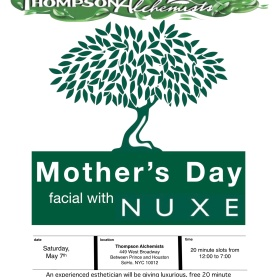 NUXE Facials for Mother's Day