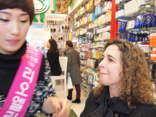 "Jolie Alony tries Lioele Cosmetics at Thompson Alchemists ""Soho's Neighborhood Health & Beauty"""