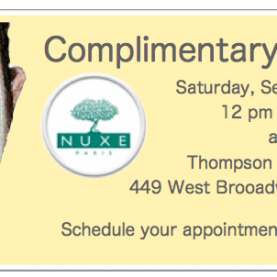 Nuxe Flyer September 8th 2012