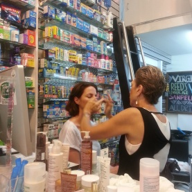 mini facials provided by Nuxe skin care in Soho NYC