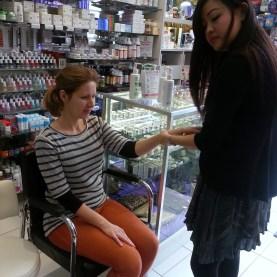 Apothecanna skincare in Soho, NY