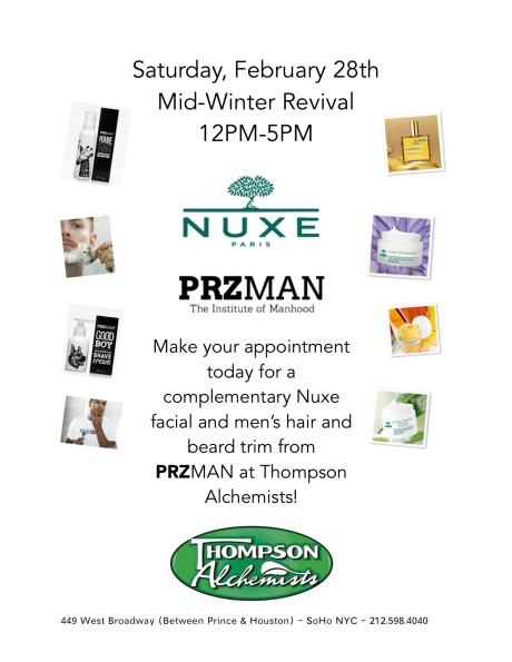 Nuxe USA PRZMAN Event