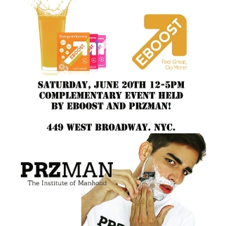 PRZMAN and EBOOST
