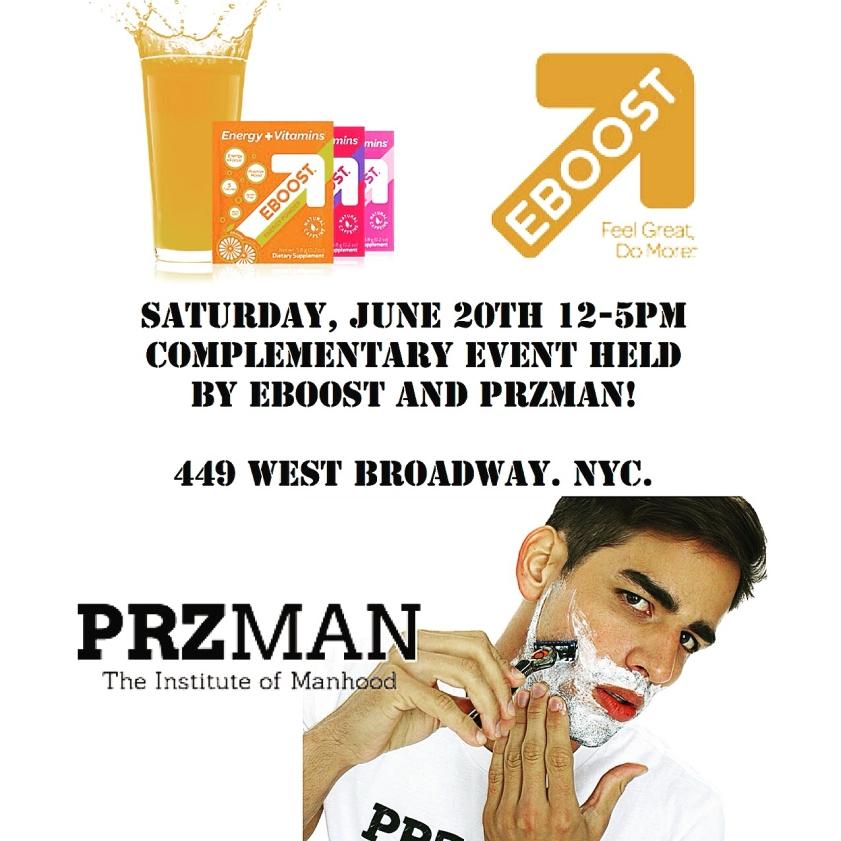 PRZMAN and EBOOST