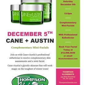 Cane + Austin Skincare Event