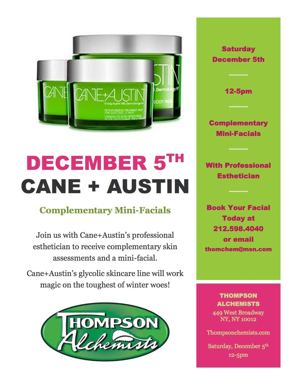 Cane+Austin Skincare