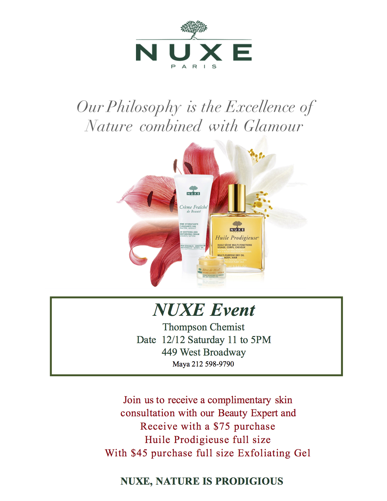 Nuxe Event