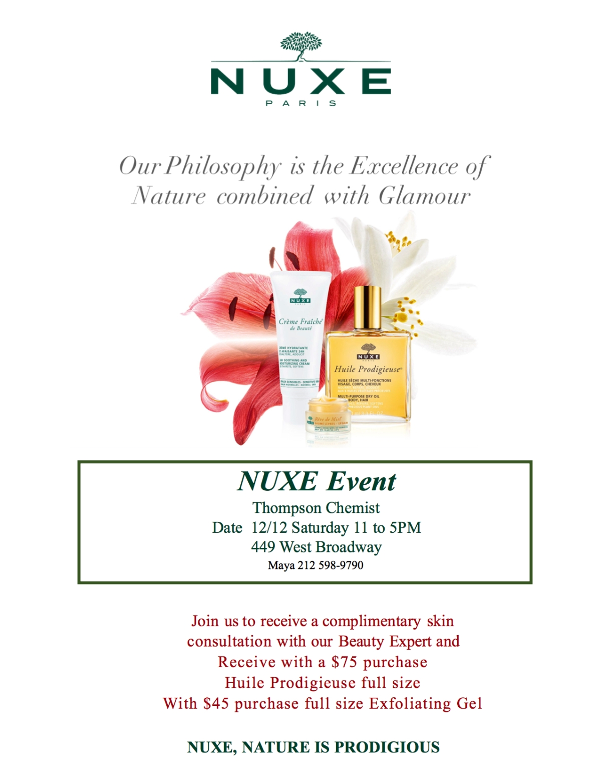 Nuxe Winter Fixer