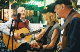 Bluegrass music in New York City