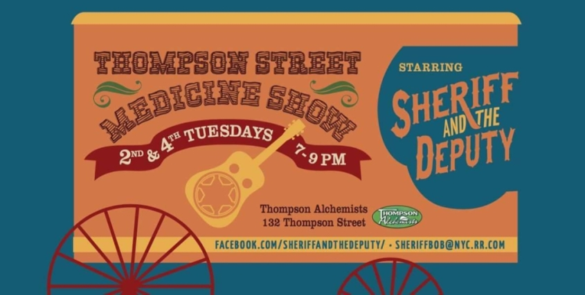 thompson street medicine show invite