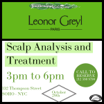leonor greyl hair and scalp analysis hosted by Thompson Alchemists